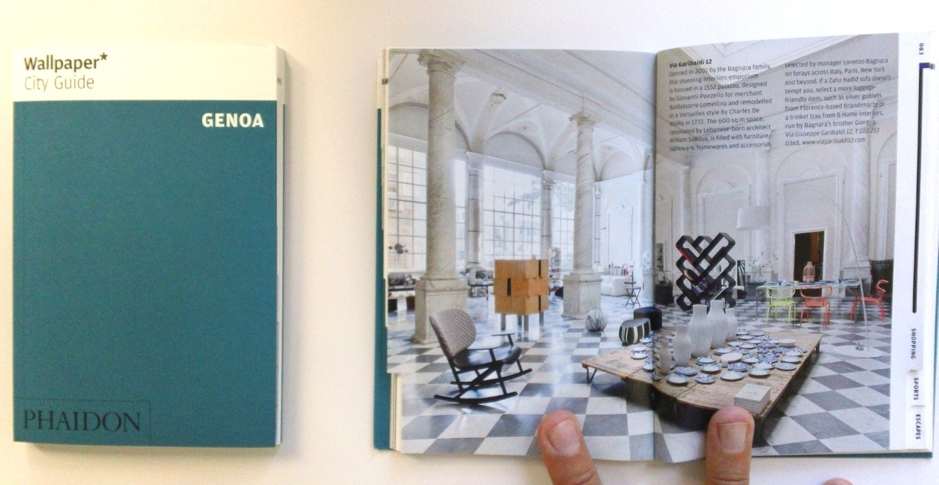 Wallpaper City Guide Genoa ... finally!