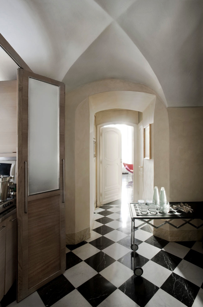 Garibaldi suite for Boutique hotel genova
