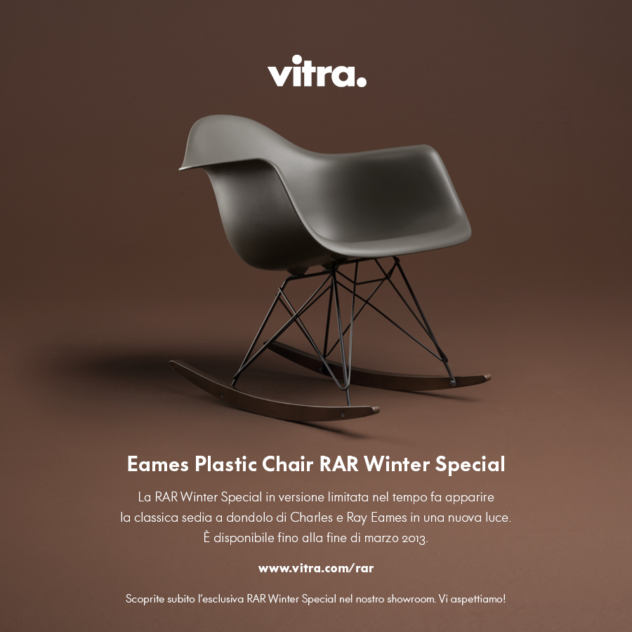 Sedia Dondolo Eames.Sedia A Dondolo Eames Edizione Speciale