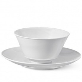 gravy bowl with plate