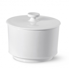 sugar pot with cover