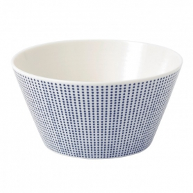 6 cereal bowls dots cm 15