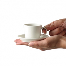 6 espresso cups with saucers Koko