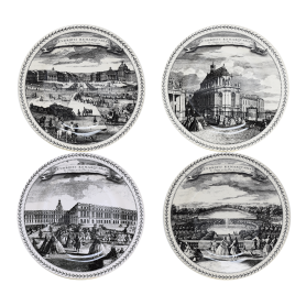 set of 4 bottle coasters