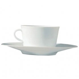6 teacups with saucers