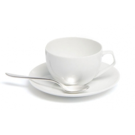 6 coffee cups with saucers