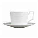 6 espresso cups with saucers